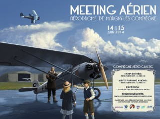 Poster for the Compiègne 2014 Air Show