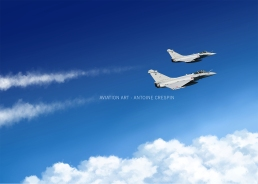 """Two Rafale from """"Normandie Niémen"""" Squadron"""
