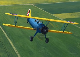 Boeing-Stearman PT-17 from the Aero Vintage Academy Flying school