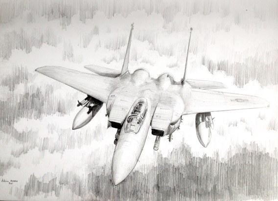 F-15 Strike Eagle on top