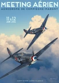 """Two Yak-3 from the """"Normandie Niemen"""""""